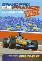 Magny Cours GP De France F1 Dépliant De 10 Pages Pour Réservation Des Billets - Automobile - F1
