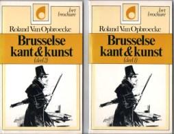 Brusselse  Kant En Kunst Handelt Voornamelijk  Over Geschiedenis Van Brussel Deel 1 En 2 - Historia