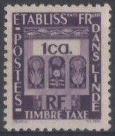 Taxe N° 19 - X X  - ( C 64 ) - India (1892-1954)