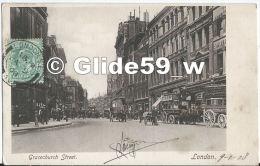 Gracechurch Street - LONDON (animée) - Otros