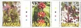 ang0903 Angola 2009 Coffee Agriculture 3v