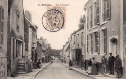 Cpa  61  Belleme , La Rue D'alencon Animee - France