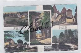 Souvenir D'ARLAY (39)la Chevance D'Or,Entrée Du Vieux Château,le Pont Du Champ De Foire, Barrage - France