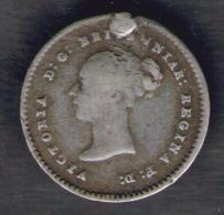 GREAT BRITAIN / GRAN BRETAGNA - QUEEN VICTORIA - 2 PENCE ( 1838 ) AG / SILVER - 1816-1901 : Coniature XIX° S.