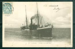 N°16  - Le Havre - Steamer En Pleine Mer  -  LFL175 - Ferries
