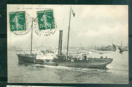 N°296  - Le Havre Bateau De Honfleur    -  LFL183 - Ferries