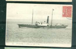 N°240     -  Le Havre  -   Le Bateau De Caen  -  LFL192 - Ferries