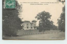 SAINT ETIENNE DE MER MORTE  - Château De La Muraillère, Le Parc. - Non Classés