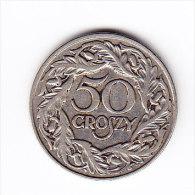 POLOGNE Y 13 1923, 50C. (4PM24) - Pologne