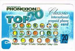 SVIZZERA (SWITZERLAND) - PHONEXION (REMOTE) - TOP 20  - USED  -  RIF. 8095 - Svizzera