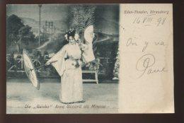 67 - STRASBOURG - EDEN-THEATRE - LA GEISHA ANNE SICCARD - Strasbourg