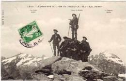 Chasseurs Alpins Sur La Cime Du Diable (68201) - France
