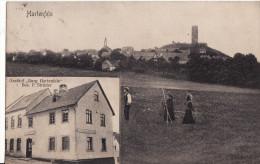 """HARTENFELS - 1900  -  Gasthof """"Burg Hartenfels""""  Bes. P. Strüder - Allemagne"""