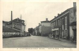 SAINT SEURIN DE CURSAC SORTIE DU BOURG  CAFE RESTAURANT A LA RENAISSANCE - France