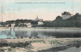 CASTETS EN DORTHE  VUE GENERALE SUR LES BORDS DE LA GARONNE - France