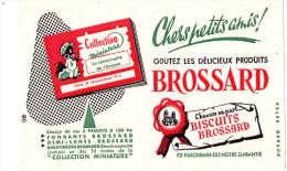 -  BUVARD Pub Biscuits Brossard - 933 - Cake & Candy