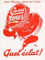 -  BUVARD Pub Cirage MAYOLA - 934 - Chaussures