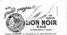-  BUVARD Pub Cirage LION NOIR  - 939 - Scarpe
