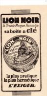 -  BUVARD Pub Cirage LION NOIR  - 940 - Scarpe
