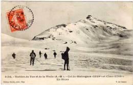 Vallée Du Var Et De La Tinée - Col De Gialorgues Et Cime - En Hiver    (68224) - Zonder Classificatie