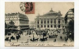CP , 75 , PARIS , L'Opéra Et Le Café De La Paix - Other