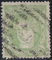 ESPAÑA 1870 - Edifil #114 - VFU - 1868-70 Provisional Government