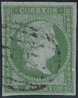 ESPAÑA 1855 - Edifil #39 - VFU - Gebraucht