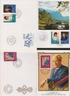 LEICHTENSTEIN  FDC+ CARTE    Réf  6835 - Liechtenstein