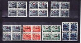 Albanien - Mi # 368 - 374 ** In Viererblock - Albanie