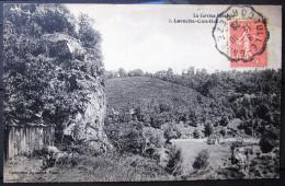 Cachet TULLE GARE  N° 1227  --  Sur Type Ondulé  --  CORREZE  --  1928  --  LAC  --  INDICE 10 - Spoorwegpost
