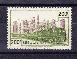 Belgien - 1953 - Bahnpost ** COB CF 335 - 1952-....