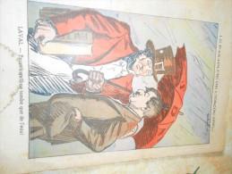 Dessin  1 Page Pelerin  Laval Hitler Parapluie Escouade 1935 - History