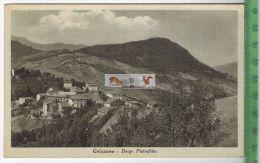 Grizzana-Borgo Pietrafitta -Verlag: ----------,  POSTKARTEErhaltung: I-II, UnbenutztKarte Wird In Klarsichthülle Verschi - Bologna