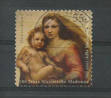 BRD 2012  Mi.Nr. 2965 , 500 Jahre Sixtinische Madonna - Selbstkl. - Gestempelt / Used / (o) - BRD