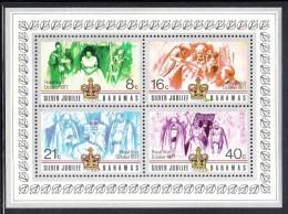 "Bahamas MNH Scott #415a Souvenir Sheet Of 4 Queen Elizabeth II´s Silver Jubilee Overprinted ""Royal Visit October 1977´ - Bahamas (1973-...)"