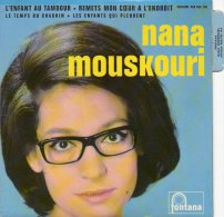 45T - NANA MOUSKOURI - L'enfant Au Tambour - Vinyles