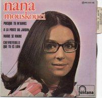 45T - NANA MOUSKOURI - Puisque Tu M'aime - Vinyles
