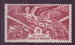 Saint-Pierre-et-Miquelon N° 11**et 12  17**par Avion - Aéreo