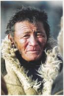 China - A Paeceful Tibetan Old Man - Tibet