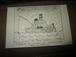 Postcard Carte Postale Roosvelt Churchill Prince Of Wales Propaganda Guerre WWII - Documents