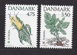 Timbre(s) Neuf(s) **danmark, Europa 1992, N°1028-9 Y Et T,découverte De L´amérique Par Christophe Colomb, Maïs,patate - Danemark