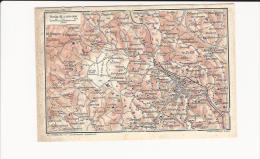 Circondario Di SIENA Toscana   -  Cartina Del 1914 - Europa