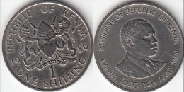KENYA 1 Shilling 1989 KM#20 - Used - Kenia