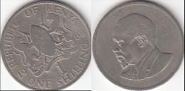 KENYA 1 Shilling 1968 KM#5 -used - Kenia