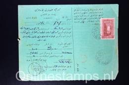 Turkey, Ottoman Empire Card Colis Postal/Postal Parcel Card - Storia Postale