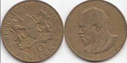 KENYA 10 Cents 1968 KM#2 - Used - Kenia