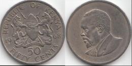KENYA 50 Cents 1968 KM#4 - Used - Kenia