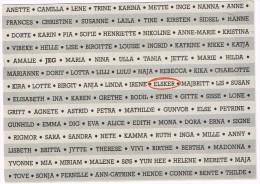 """M2675 Go Card Fejrer """"Everyday People I 1993 - Elsker / Non Viaggiata - Nomi"""