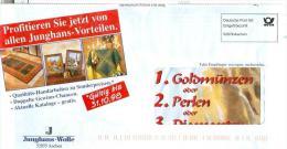 BRD Aachen Entg. Bez. 1998 Junghans Wolle - Textil