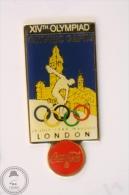London 1948, XIVth Olympiad - Olympic Games - Coca Cola Pin Badge #PLS - Coca-Cola